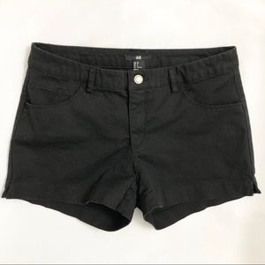 H&M Black Shorts sz 8